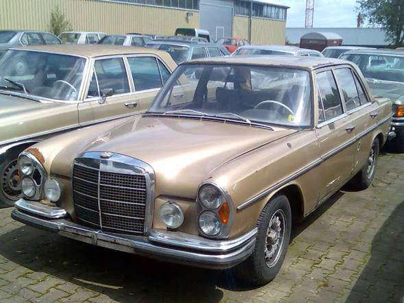 Mercedes W108 W111 Coupe 250 280 SE Satz Federn vorn